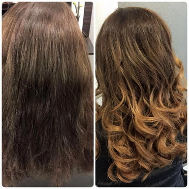 Balayage Farbkreation