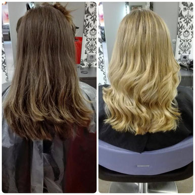 Balayage Look Blondton
