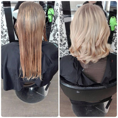 Blond Balayage Look Olaplex