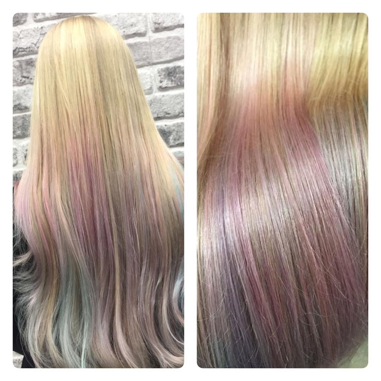 Rainbow Look Olaplex