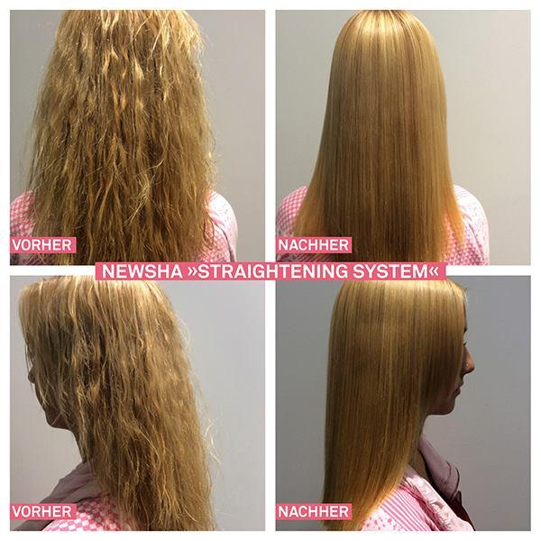Permanent Haarglättung Newsha Dauerhafte Haarglättung