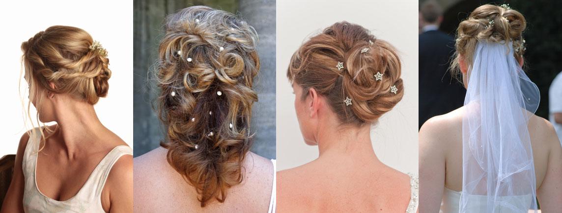BEAUTEX Hair Lounge Brautfrisur Hochsteckfrisur